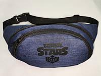 (13*28)Детская сумка на пояс STARS мессенджер Спортивные барсетки бананка Девочка и мальчик опт