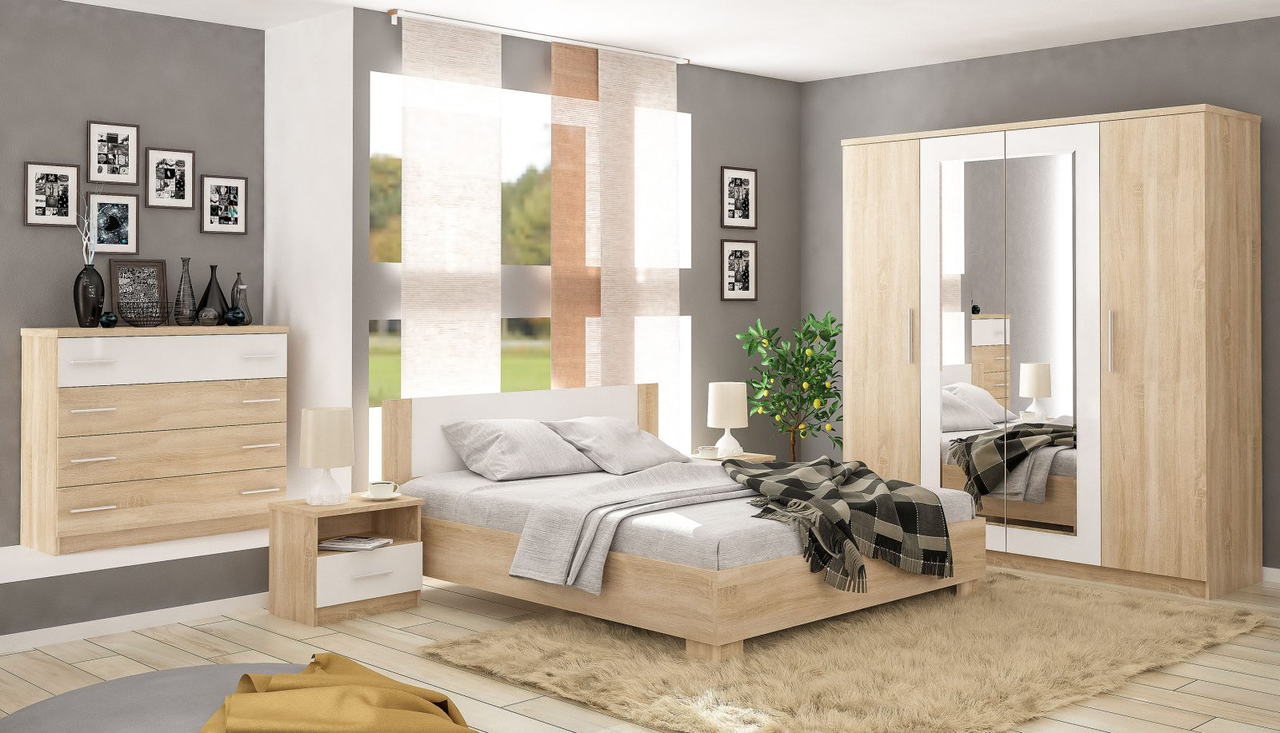 Спальня Маркос Mebelservice Комплект