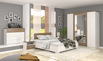 Спальня Маркос Mebelservice Комплект Андерсон пайн/Дуб април
