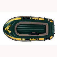 Лодка надувная Intex 68347 Seahawk на 2 человека Зеленый int68347, КОД: 110889