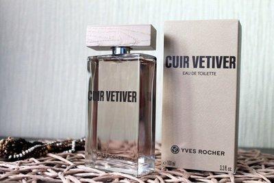 Туалетная вода Cuir Vetiver 100ml Yves Rocher