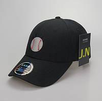 Кепка Бейсболка New York Yankees NY MLB  Нью-Йорк Янкиз Мяч Черная