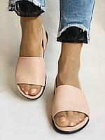 Стильні,модні,шкіряні босоніжки на маленькій танкетці Ripka. Туреччина.36-40 Магазин Vellena, фото 6