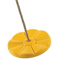 Качели тарзанка для детских игровых площадок Just Fun Желтый 2PR05-01B1 01, КОД: 1494926