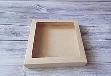 Коробка для пряника 200х200х35 мм. (Крафт)