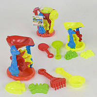 Набор игрушек для песочницы 0818-B31, в сетке