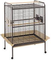 Ferplast Expert 100 - клетка-вольер для крупных попугаев (124,5 x 100 x h 156 cm)