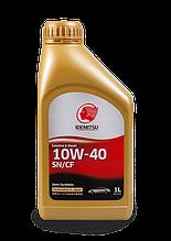 Масло моторное IDEMITSU SN/CF 10W-40 (1литр, пластик)