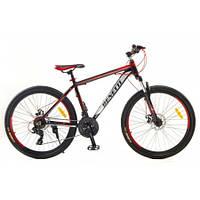 Горный  спортивный велосипед Бэнэтти МТВ красный