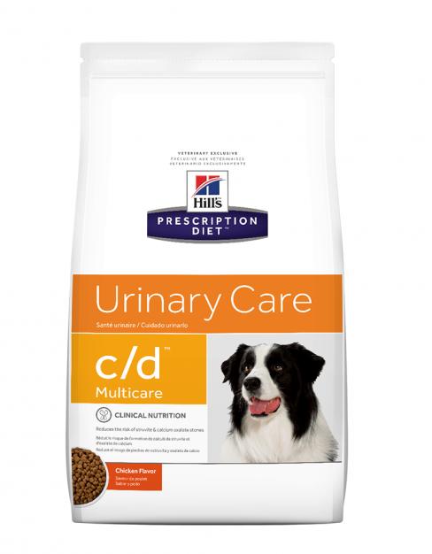 Хіллс Hills PD Canine C / D лікувальний сухий корм для запобігання освітою струвіту у собак, 2 кг