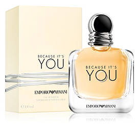 Giorgio Armani Emporio Armani Because It's You Парфюмированная вода EDP 100ml (Джорджио Армани Бикоз Итс Ю)