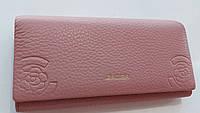 Жіночий шкіряний гаманець Balisa PY-D100 пінк Гаманці і портмоне купити оптом в Україні, фото 1