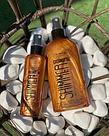 Кокосовое Масло для загара с шиммером Top Beauty Coconut oil Shimmer 100мл