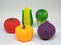 Брызгалки Овощи 5 в 1 в кульке