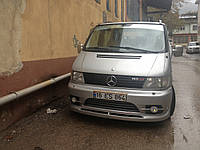 Передний тюнинг бампер Mercedes Vito 638