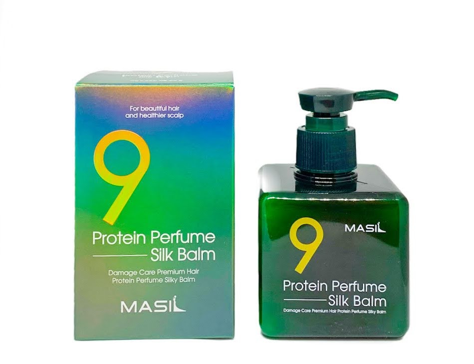 Парфумований протеїновий незмивний бальзам для волосся Masil 9 Protein Perfume Silk Balm