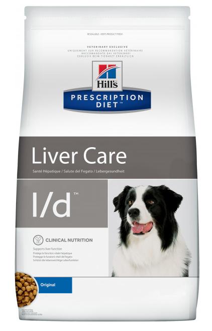 Хиллс Hills PD Canine L / D  сухой корм для собак при заболеваниях печени, липидоз, гепатоенцефалопатии, 12 кг
