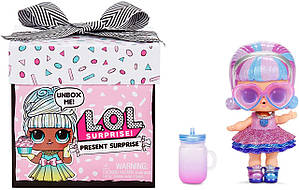 Новинка! L.O.L. SURPRISE! серии Present Surprise - Подарок LOL Surprise Present Surprise Doll with 8 Surprises
