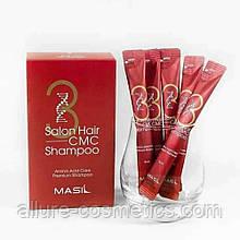 Восстанавливающий шампунь с аминокислотами в стике Masil 3 Salon Hair CMC Shampoo