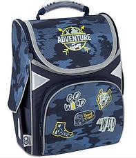 Рюкзак для мальчика школьный ортопедический каркасный Kite Adventure GO20-5001S-16, фото 2