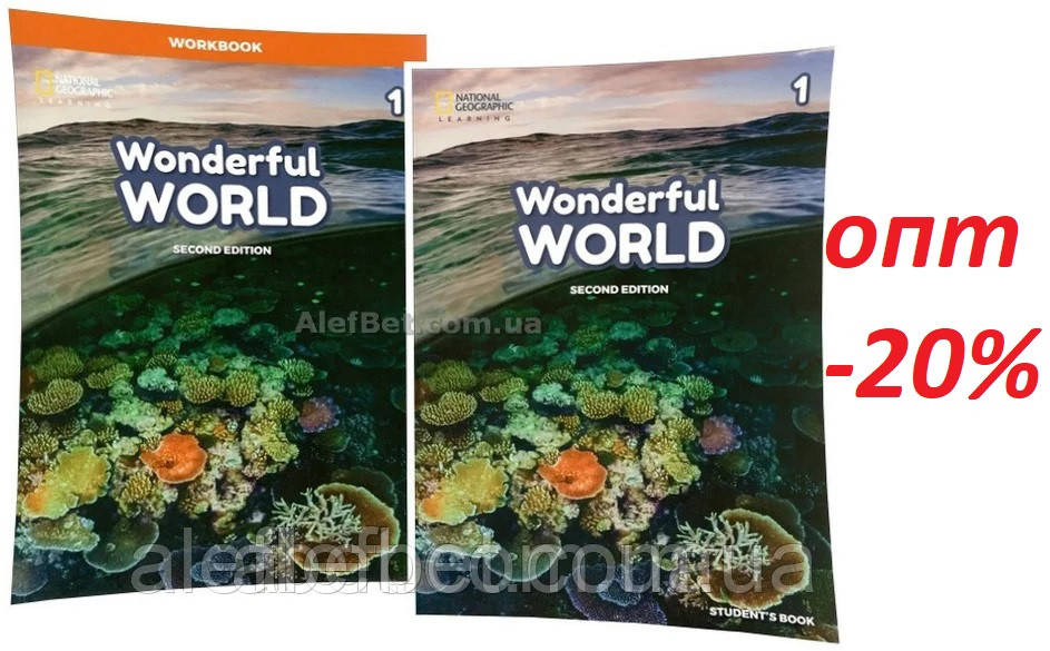 Английский язык / Wonderful World. Student's+Workbook, Учебник+Тетрадь (комплект), 1 / NGL