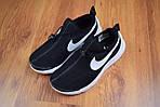 Женские кроссовки Nike Air Max Tavas (черно-белые) 2830, фото 5