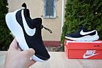 Женские кроссовки Nike Air Max Tavas (черно-белые) 2830, фото 7