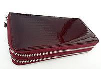 Женский кожаный кошелек Balisa В135-571 бордо Лаковые кошельки Balisa оптом, фото 3