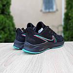 Жіночі кросівки Nike Zoom (чорно-зелені) 20166, фото 2
