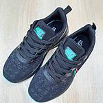 Жіночі кросівки Nike Zoom (чорно-зелені) 20166, фото 7
