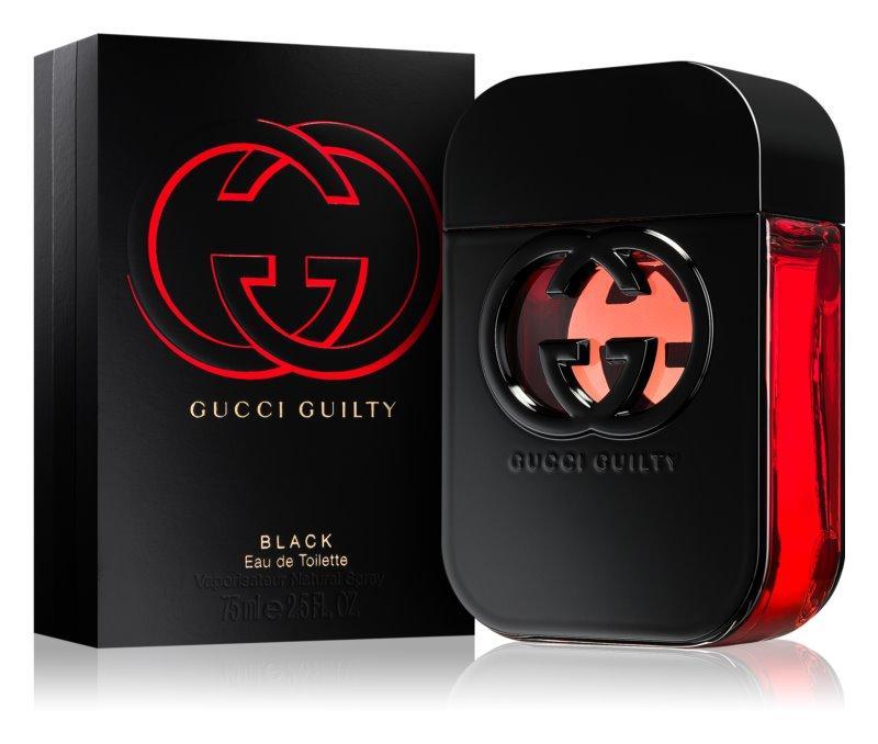 Gucci Guilty Black Pour Femme Туалетная вода EDT 75ml (Гуччи Гилти Блек Блэк) Женский Парфюм EDP Аромат Духи