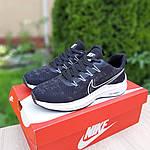 Мужские кроссовки Nike ZOOM (черно-белые) 10217, фото 4