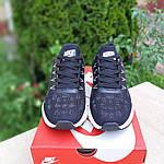 Мужские кроссовки Nike ZOOM (черно-белые) 10217, фото 3