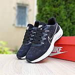 Мужские кроссовки Nike ZOOM (черно-белые) 10217, фото 8
