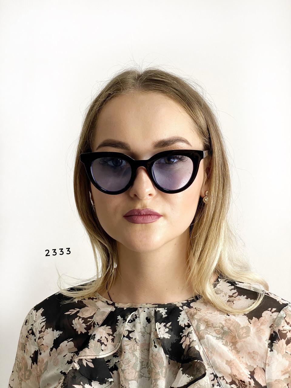 Солнцезащитные очки с синими линзами