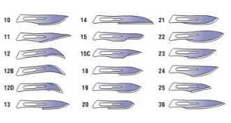 Леза для скальпелю Medicare (розмір 10), фото 2