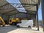 Ангар Двускат 24х54 навес, фермы, цех, здание, помещение, склад, сто, фото 8