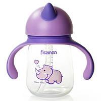 Бутылочка для кормления Fissman с ручками 260 мл 6901