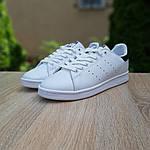 Чоловічі кросівки Adidas Stan Smith (біло-чорні) 10219, фото 8