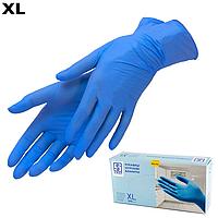 Рукавички нітрилові SIRAP сині 100 шт, XL