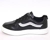 Осенние черные женские кроссовки 37