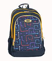 Підлітковий ортопедичний рюкзак Dr. Kong Z1200036B M, чорний
