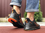 Мужские кроссовки Asics (черно-оранжевые) 9623, фото 3