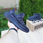 Мужские кроссовки Adidas Yeezy Boost 350 V2 (черные) - 10212, фото 4