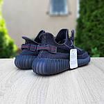 Мужские кроссовки Adidas Yeezy Boost 350 V2 (черные) - 10212, фото 7