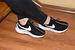 Женские кроссовки Nike Air Max Tavas (черно-белые) 2830, фото 4