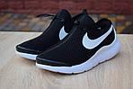 Женские кроссовки Nike Air Max Tavas (черно-белые) 2830, фото 6
