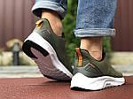 Мужские кроссовки Asics (темно-зеленые) 9617, фото 2
