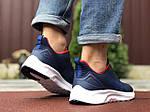 Мужские кроссовки Asics (сине-белые с красным) 9618, фото 4