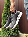 Чоловічі кросівки Asics (сіро-білі) 9621, фото 2